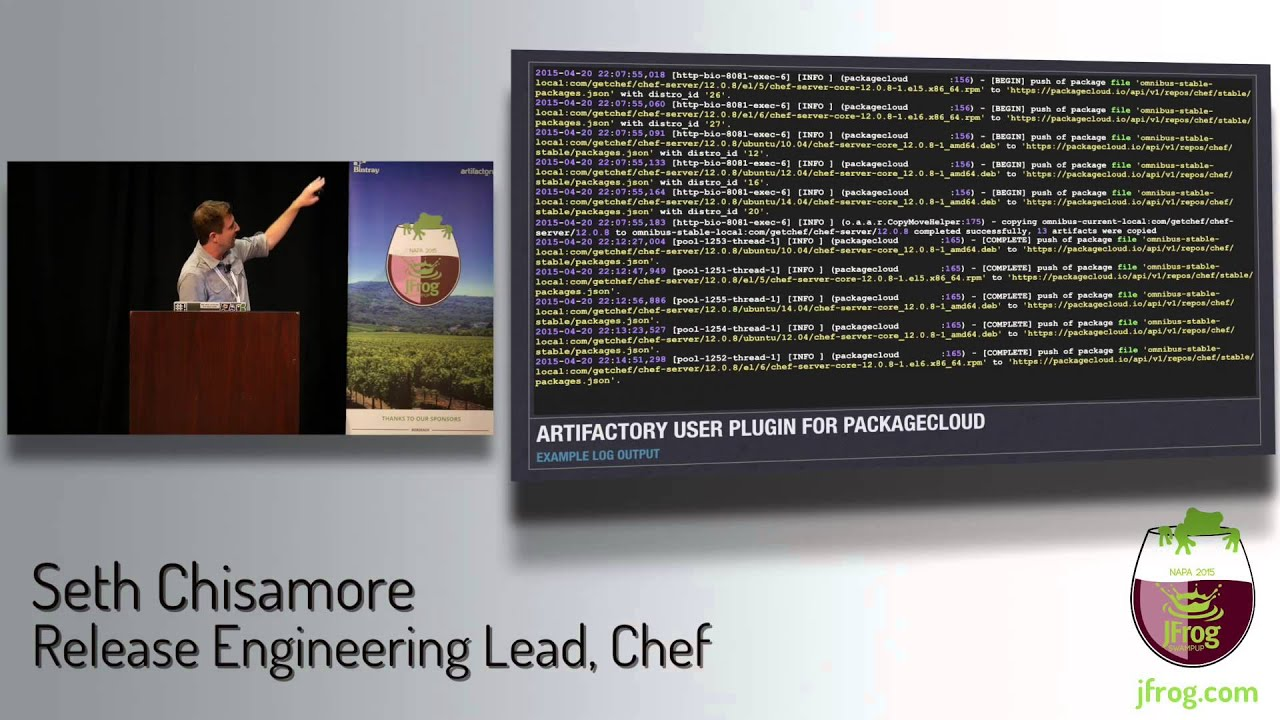 The Chef and the Frog - Automating Artifactory!