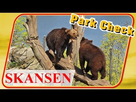 Park Check Skansen (Stockholm / Freilichtmuseum / Zoo / Djurgården)