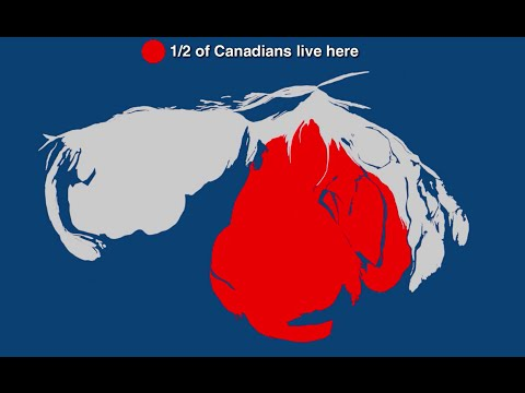 Half of Canada