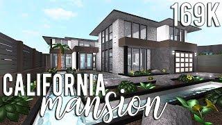 Roblox Bloxburg Mansions 130k Roblox Bloxburg California Mansion 169k Youtube
