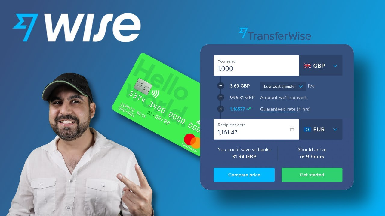 Download US bank account for non residents WISE aka Transferwise