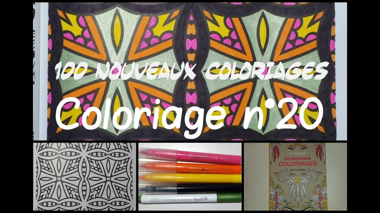 100 Nouveaux Coloriages Coloriage N20 Youtube