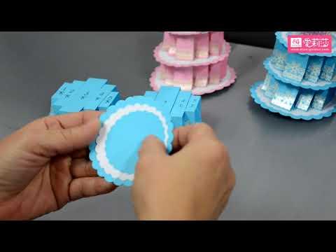 立體生日蛋糕-示範教學