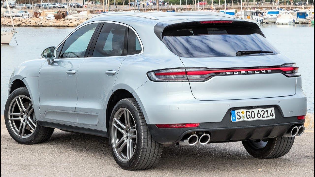 2019 Silver Porsche Macan S - The Sports Car In The ...