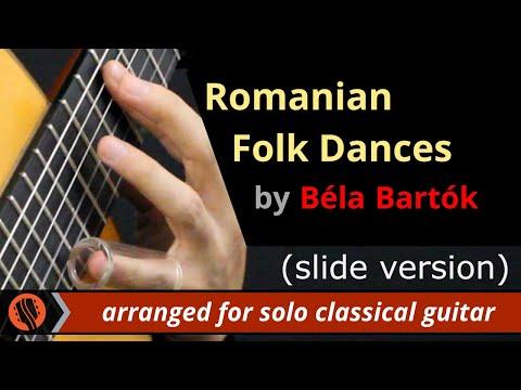 Romanian Folk Dances by Béla Bartók (solo classical guitar arrangement by Emre Sabuncuoglu)