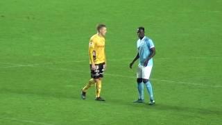 En stekhet Anton Tinnerholm gör två mål inom fyra minuter, Malmö FF-Elfsborg, 2017-09-25