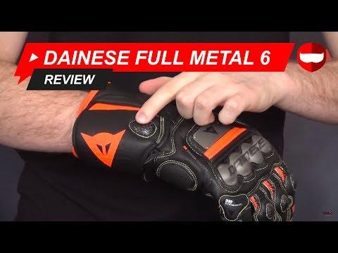 Dainese Full Metal 6 Gloves Review - ChampionHelmets.com