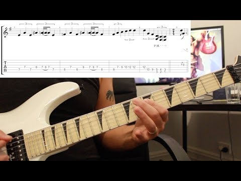 How to play 'The Shortest Straw' by Metallica Guitar Lesson w/tabs