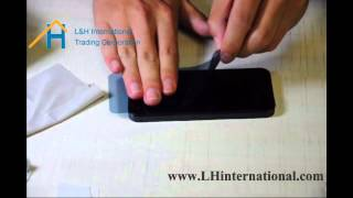 How to install a tempered glass screen protector? - Glass-M by LHinternational
