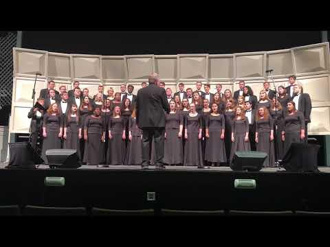Harding University Chorus, October 3rd, 2018.