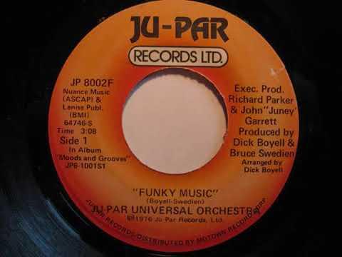 FUNK 45 Ju Par Universal Orchestra - Funky Music