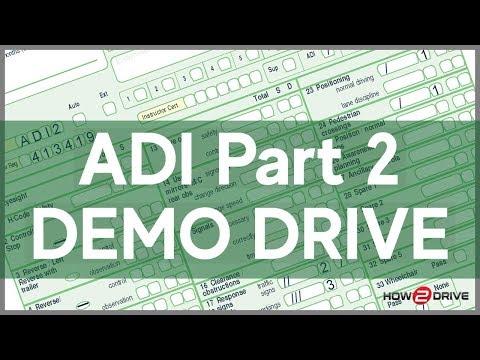 ADI Part 2 Demonstration Drive