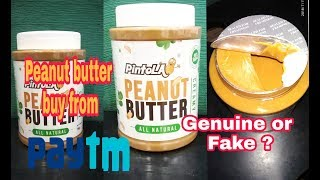 Best peanut butter pintola buy from paytm, unboxing and benefits