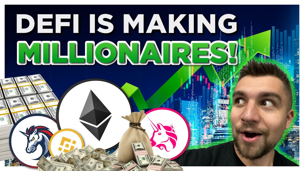 DeFi Tokens Are Making Crypto investors MILLIONAIRES -- How??