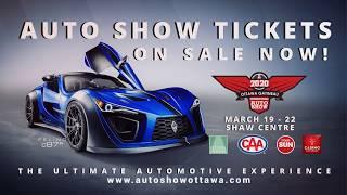 Ottawa Gatineau International Auto Show 2020