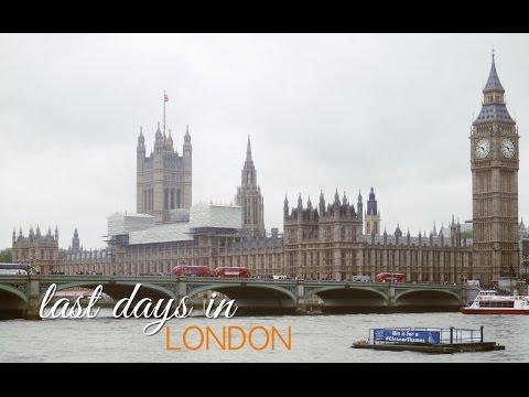 TRAVEL VLOG   LAST DAYS IN LONDON   LONDON 2016 Part 3