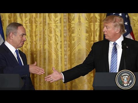 How did Benjamin Netanyahu fare against the infamous Donald Trump handshake?