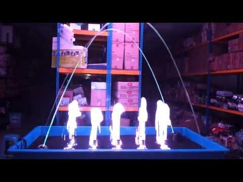 Gangnam Style Mini Musical Fountain #testing