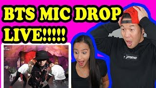 BTS -  MIC DROP - BTS COMEBACK SHOW LIVE REACTION!!!! MP3