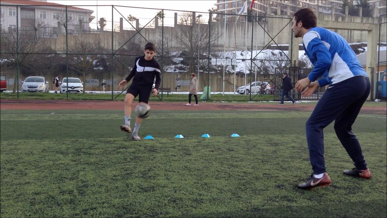 Futbol Bireysel Antrenman Hız - Çeviklik - Topla Çalışmalar