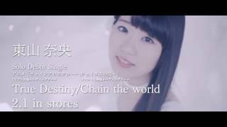 東山奈央 ソロデビューシングル 2017.2.1 on sale!! アニメ「チェインク...