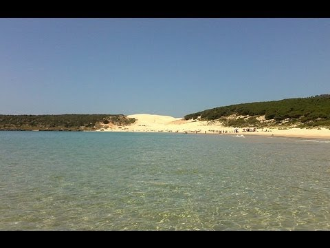 PLAYA DE BOLONIA  Tarifa, Spain (HD) - YouTube