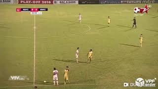 Thắng luân lưu Hà Nội B, Nam Định ở lại V-League