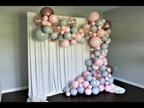 Double Stuffed Balloon Garland DIY | How To | Tutorial