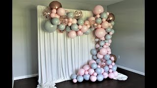 Double Stuffed Balloon Garland DIY | How To | Tutorial