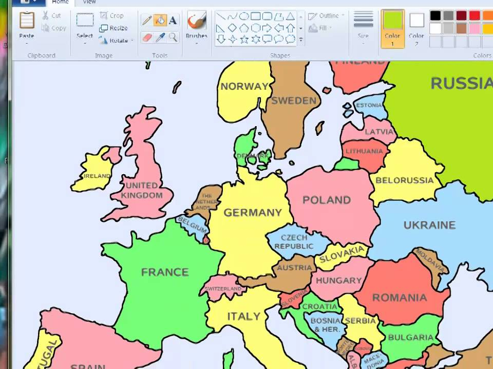 ENGLISH LANGUAGE 113 - Pronunciation - Names of Countries in Europe ...
