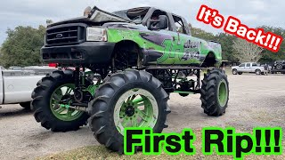 Taking The JH Diesel Mega Truck For Its First Rip!!!