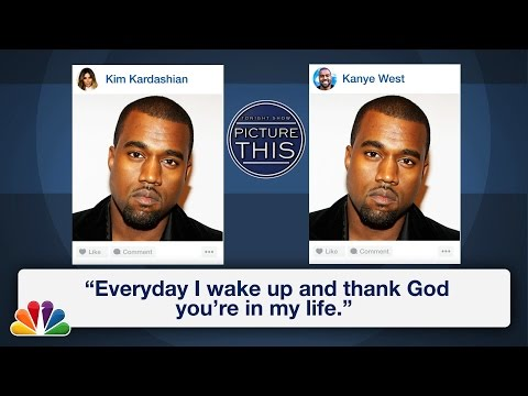 Picture This: Kanye West, Kim Kardashian