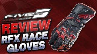 Five RFX Race Gloves Review | Sportbike Track Gear
