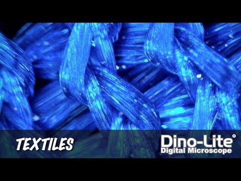 Dino-Lite Applications: Textile