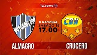 Almagro vs Crucero del Norte full match