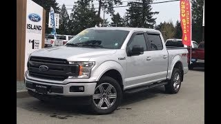2018 Ford F-150 XLT FX4 Sport 302A V8 SuperCrew Review| Island Ford