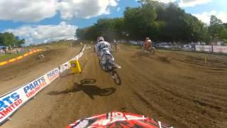 GoPro HD: Alex Martin Moto 2 Lap 2012 Lucas Oil Pro Motocross Championship Unadilla