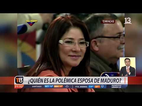¿Quién es la polémica esposa de Maduro?