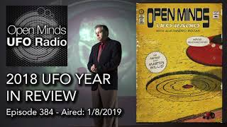Open Minds UFO Radio: 2018 UFO Year in Review