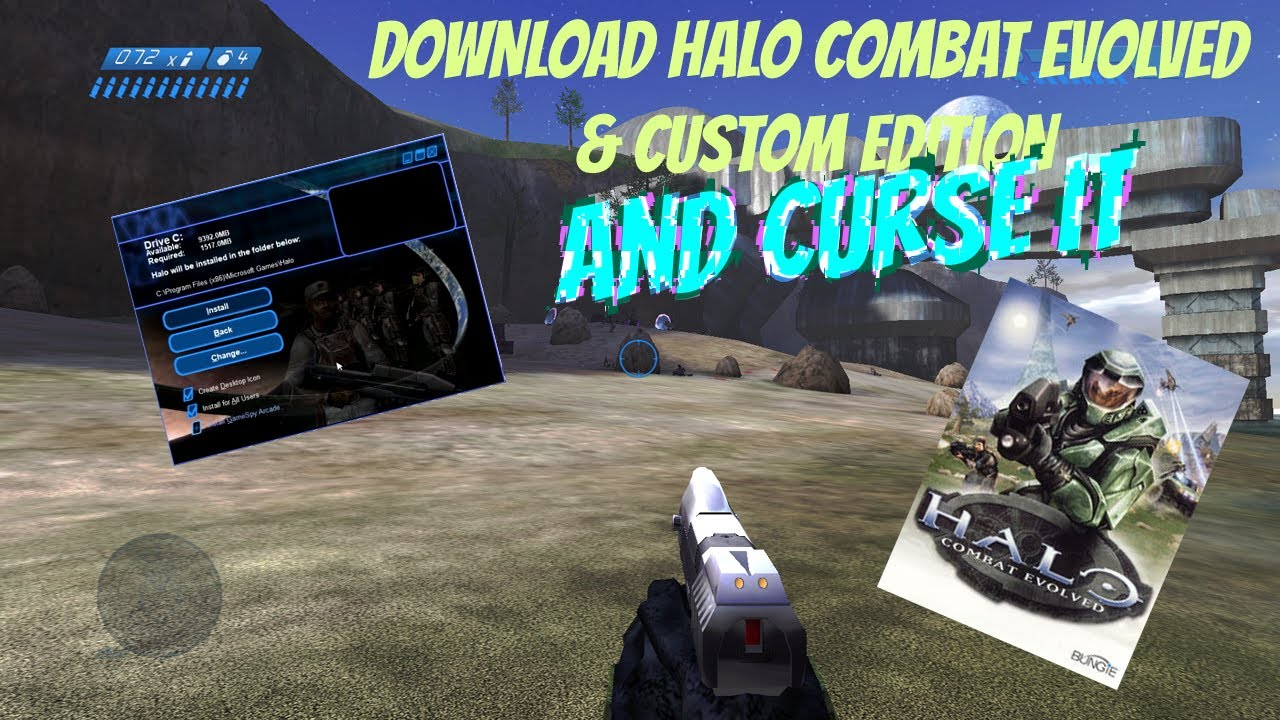 How To Install Cursed Halo Combat Evolved Custom Edition Youtube