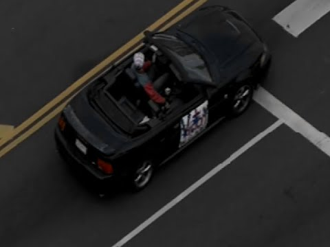 Los Angeles slow-speed police chase