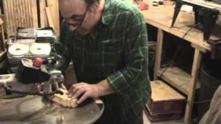 Making Split Pattern for Cast Aluminum AK-47 Stock