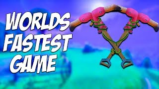Fortnite WORLDS FASTEST Squads Game! 37 Kills! Fortnite Battle Royale BR