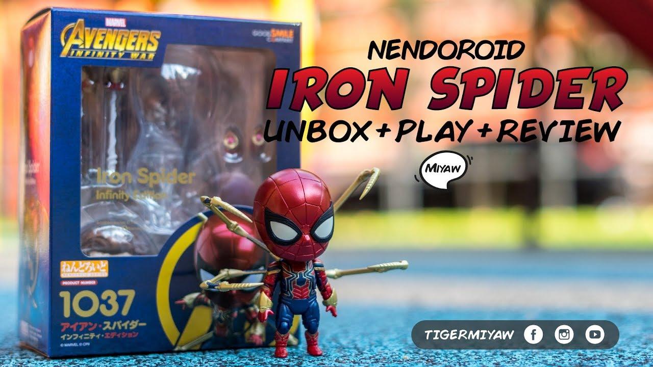Good Smile Spider-Man Iron Spider Infinity Edition Avengers Infinity WAR Spiderman Nendoroid Action Figure