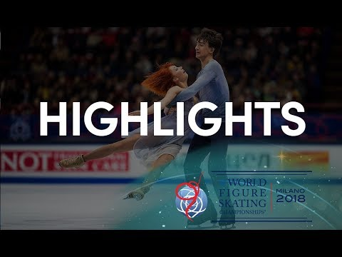 Ice Dance Free Dance Highlights - Milano 2018