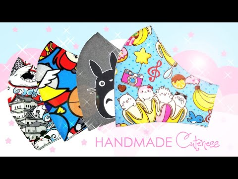 Cool, Cute, & Pretty Mask Designs For Sale On Etsy | Help Support Fabric Mask Production & Soap Aid from YouTube · Duration:  1 minutes 52 seconds