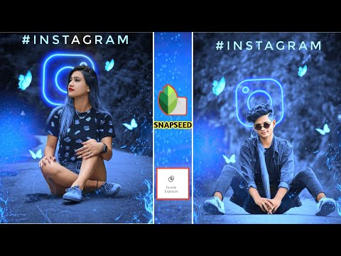 Snapseed - Instagram Viral Photo Editing | Snapseed Photo Editing Trick ? | Background Colour Change