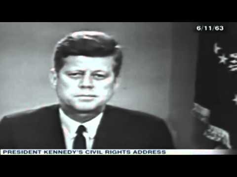 JFK Civil Rights Speech   AssassinationOfJFK