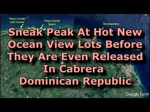 Stunning Ocean View Property - Cabrera Dominican Republic- Value, Views