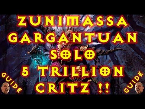 Diablo 3 WD Zunimassa Gargantuan Solo GR Build 2.6.1